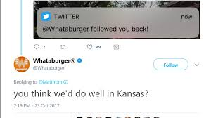 Kansas what travels through a food chain or web images Whataburger asks 39 you think we 39 d do well in kansas 39 the