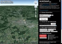 Nuclear Bomb Map Regensburger Tagebuch Schatten über Regensburg Nukemap 3d