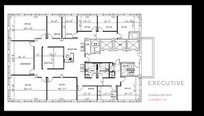 Floor Plan Of Office Building Open Office Building Floor Plans Only Then Executive Thraam Com