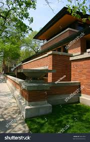 frank lloyd wrights robie house chicago stock photo 3621854