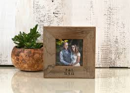 personalized engraving 4x4 square frame custom engraved with your message picture frame