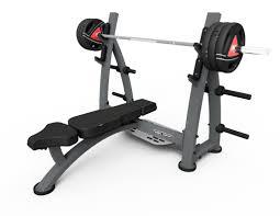 Sports Authority Bench Press Olympic Flat Bench Press With Racks 644 00 Fitness U0026 Gym