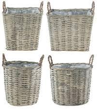 rattan garden pots ebay