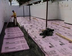 Basement Floor Insulation Creative Inspiration Basement Floor Insulation 2 Homey How To