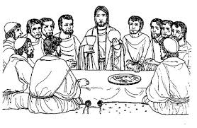 Funny Drawing Of The Last Supper Colouring Page Funny Drawing Of Last Supper Coloring Page