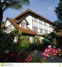 english tudor cottage the cameron highlands smokehouse hotel and restaurant editorial