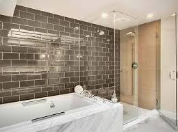 bathroom subway tile designs 20 beautiful bathrooms using subway tiles home design lover