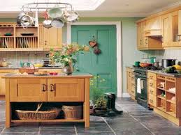 architecture cheerful home interior country style kitchen alluring