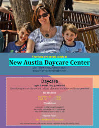 daycare brochure template 5 free daycare flyer templates