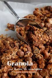 brouillon de cuisine granola au beurre de cacahuètes sans sucre ajouté mes