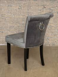 Grey Dining Chairs Grey Chair Back Ring Statement Stud Dining Inside Prepare