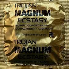 Comfortable Condoms Trojan Magnum Ecstasy Condom Better Bigger Condoms Textured