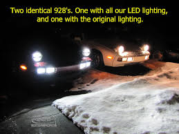 porsche 944 lights 928 motorsports 944 968 high output led h3 bulbs for fog and