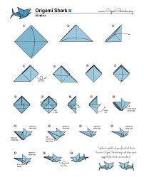 Step By Step Origami For - fold your own origami shark at home oceana