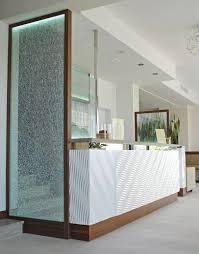 Glass Reception Desk Corner Reception Desk Marble Glass Wooden Salento Counter