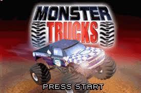 play monster trucks nintendo game boy advance play retro