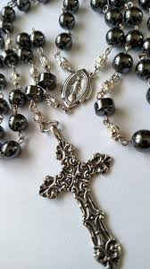 hematite rosary hematite rosary 0038 maryska collection