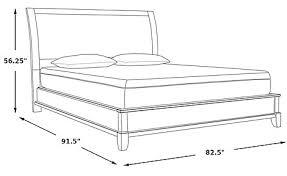 Platform Bed Frame With Headboard Belcourt Black 3 Pc King Platform Bed With Sleigh Headboard King