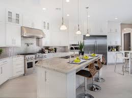 contemporary kitchen with pendant light u0026 l shaped zillow digs