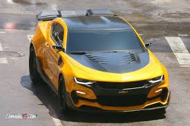 newest camaro look at bumblebee camaro for transformers 5 camaro6