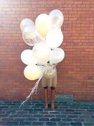 balloon delivery mn balloon bouquet gold confetti balloons wedding balloons