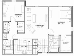 luxury apartment plans two bedroom house floor plans india unique two bedroom floor plan