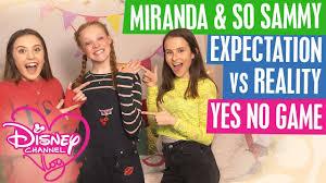 disney channel vlog with miranda and so sammy vlogging