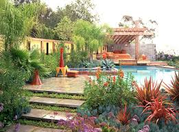 Garden Pool Ideas Landscaping Ideas For Pool Areas Pictures