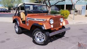 1974 jeep renegade jeep cj5 renegade 304ci v8 4x4 3 speed warn hubs documented