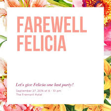 farewell card template word farewell party invitation templates canva