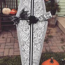 nightmare before christmas style coffin for halloween i u0027m sure
