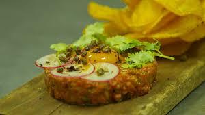 tartare cuisine carne apache papitas steak tartare recipe steak