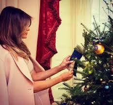 white house decorations unveils
