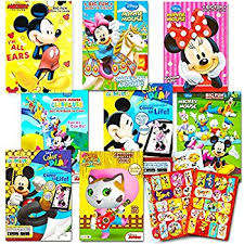 amazon disney mickey mouse 400 pages coloring fun