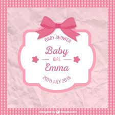 baby shower for a girl baby shower vectors photos and psd files free