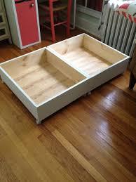 under the bed under the bed storage bins ideas u2014 modern storage twin bed design