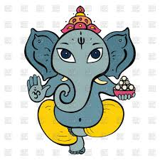 cartoon hindu god ganesh 51386 download royalty free vector