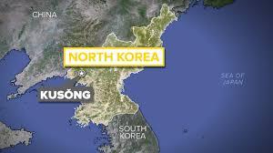 Sea Of Japan Map North Korean Ballistic Missile Test Lands In The Sea Of Japan
