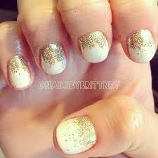 white u0026 gold gel nails nails pinterest gold gel nails hair