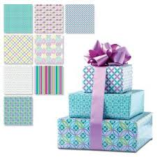 birthday wrapping paper sale current catalog