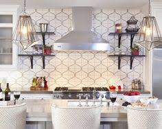 Walker Zanger Large Arabesque Or Is It Hourglass Backsplash - Walker zanger backsplash