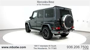 mercedes g suv 2017 mercedes g class g 63 amg suv suv in the woodlands