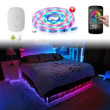led home interior lighting xk silver app wifi controlled home interior fruniture