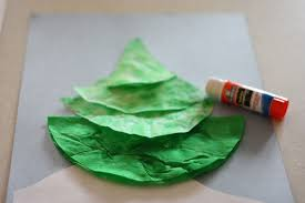 coffee filter christmas tree i can teach my child
