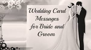 wedding message card wedding card messages for and groom