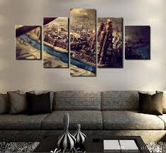game of thrones home decor home decor canvas painting abstract 5 panel game of thrones theme