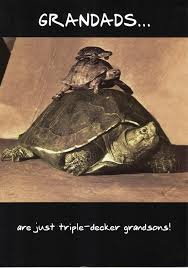 grandads are tortoise funny happy birthday grandad greeting