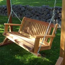 teakwood swing for outdoor indoor use