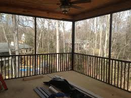 deck with screened porch the carolina carpenter