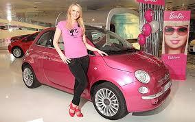 barbie pink fiat telegraph